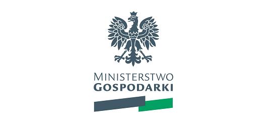 logo: PATRONAT HONOROWY:<br><br>Ministerstwo Gospodarki