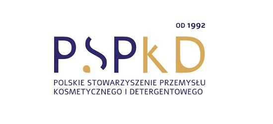 logo: PATRONAT MERYTORYCZNY:<br><br>Polskie Stowarzyszenie Przemysłu Kosmetycznego i Detergentowego
