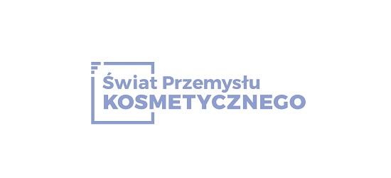 logo: PATRONAT MEDIALNY:<br><br>Świat Przemysłu Kosmetycznego