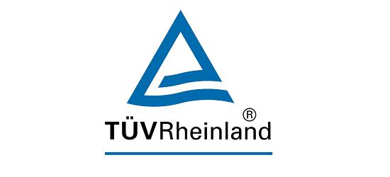 logo: PARTNER:<br><br>TÜV Rheinland Polska Sp. z o.o.