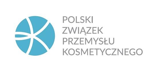 logo: PATRONAT MERYTORYCZNY:<br><br>Polski Związek Przemysłu Kosmetycznego