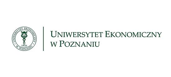 logo: PATRONAT MERYTORYCZNY:<br><br>Uniwersytet Ekonomiczny w Poznaniu