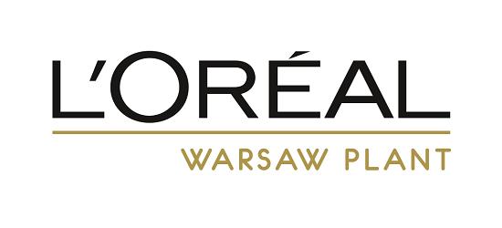 logo: HONOROWY GODPOSARZ: <br><br> L'Oréal Warsaw Plant
